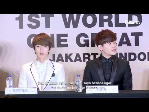 Entertainment News - Infinite mencoba belajar tentang Indonesia