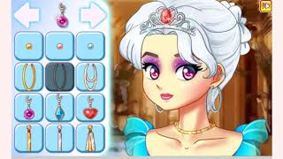 How to play Princess Makeup game | Free online games | MantiGames.com