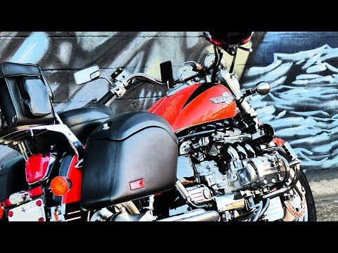 Viking Motorcycle Saddlebags Install on a 1999 Honda Valkyrie