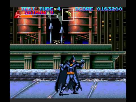 Batman Returns - Batman Returns (SNES) - Highscore Run #1 - User video