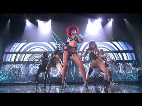 Rihanna - What&#039;s My Name + Only Girl (In The World) (American Music Awards 2010) HD 720