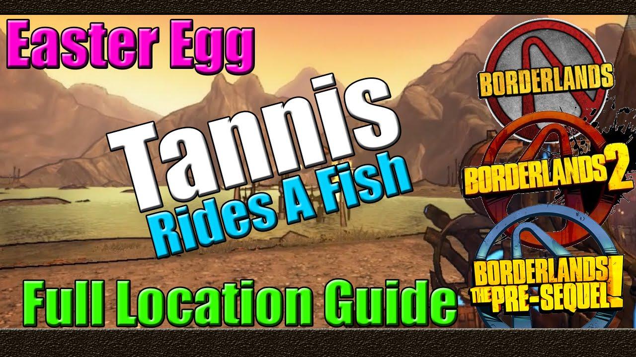 Borderlands Tannis Fish Tannis Rides a Fish