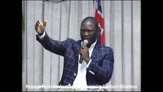Confronting and Conquering Stubborn Situations (Part 1) - Pastor Ayodeji Olusanmi