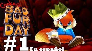 Conker la Ardilla!!!!!(Conker's Bad Fur Day-Español)ep1