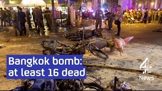 Bangkok bomb: multiple casualties at Erewan shrine