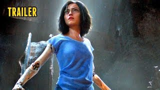 🎥 ALITA: BATTLE ANGEL (2018) | Full Movie Trailer in HD | 720p