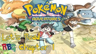 Let's Read Pokemon Adventures (Pokemon Special) Red/Blue/Green Chapter 1