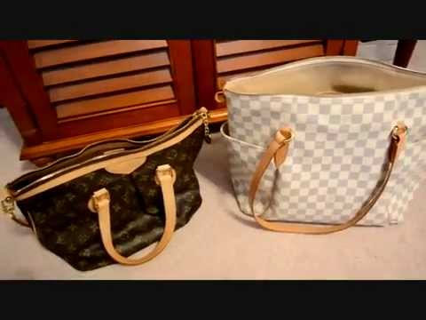 Louis Vuitton Comparison: Palermo PM versus Totally MM Handbag Review