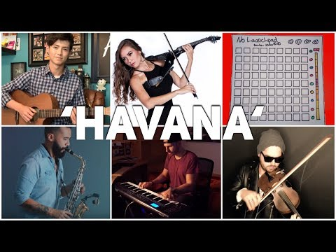 Who Played It Better: Havana (Guitar, Piano, Violin, Saxophone, Electric Violin, Launchpad)