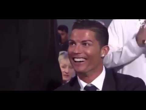 Funny Moment Cristiano Ronaldo and James Rodriguez - Globe Soccer Award Dubai 2014