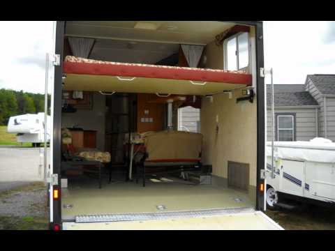Toy Hauler Conversion Toy Hauler Travel Trailer