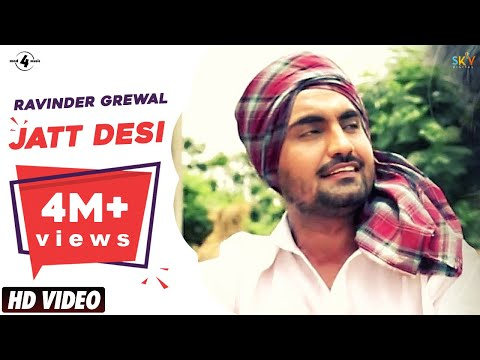 Jatt Desi | Ravinder Grewal | Full Hd Brand New Punjabi Song 2013 video