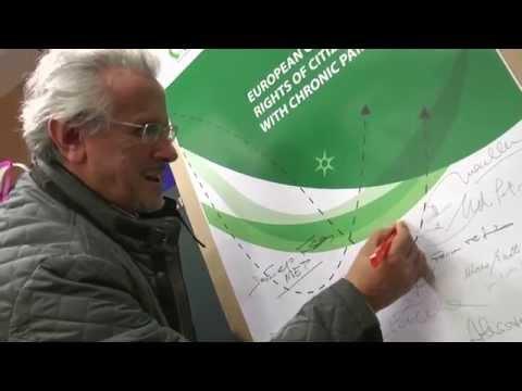 Congresso Senior Italia - video Carta Europea dei Diritti dei Cittadini Over 65 con Dolore Cronico