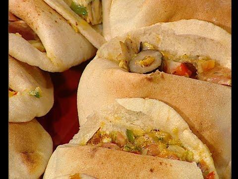 ساندوتش اباتشي محشي بالجبنه طريقة الشيف #ساره_عبدالسلام من برنامج #سنه_اولي_طبخ #فوود