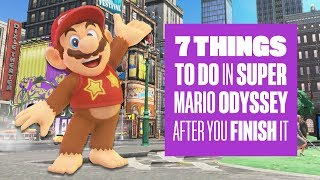 7 Things To Do in Super Mario Odyssey After You've Finished it