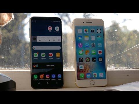 Кто дольше? iPhone 7 Plus VS Galaxy S8+ (Тест Батареи)