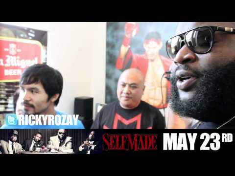 Rick Ross Sends Floyd Mayweather $10K Worth Of Belaire