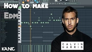 Fl Studio | How to make EDM like Calvin Harris etc...| Free Flp