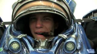 StarCraft 2. Одевание морпеха, презентация в Москве