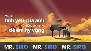 Tự Lau Nước Mắt - Mr Siro (Official Lyrics Video)