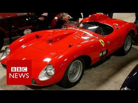 How much did 1957 Ferrari 335 Sport Scaglietti sell for? BBC News