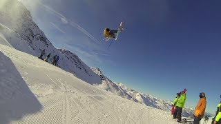 Candide Thovex at the EarlyCamp