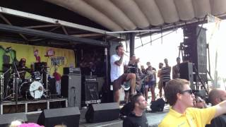 The Amity Affliction - Open Letter / Warped Tour 2013 Chicago