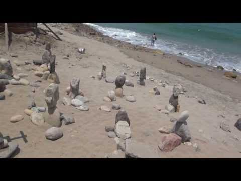 Malecon Puerto Vallarta Mexico Stone Symbols