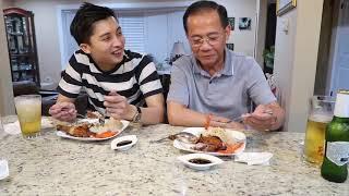Vlog170ll Hai Bác Cháu Cùng Ăn Cơm Gà Xối Mỡ, Cháu Trai Tâm Sự Về Những Ngày Đầu Đi Làm Trên Nước Mỹ