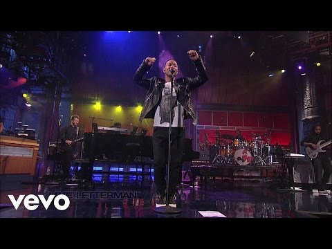 John Legend - Tonight (Best You Ever Had) (Live on Letterman)