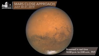 Mars Close Approach   July 30-31, 2018