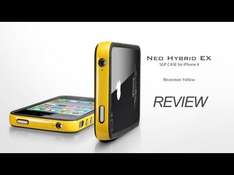 Spigen SGP Case Neo Hybrid 2S Reventon Yellow for iPhone 4/4S [Review]