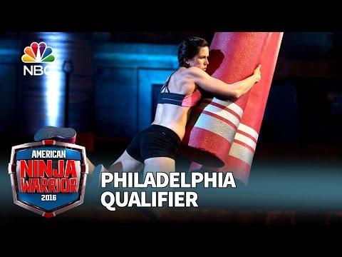 Jesse LaBreck at the Philadelphia Qualifier - American Ninja Warrior 2016