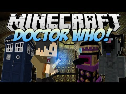 Minecraft | DOCTOR WHO! (Tardis, Daleks, Cybermen & More!) | Mod Showcase [1.6.2]