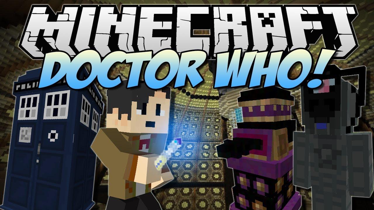 Minecraft   DOCTOR WHO Tardis, Daleks, Cybermen & More ...