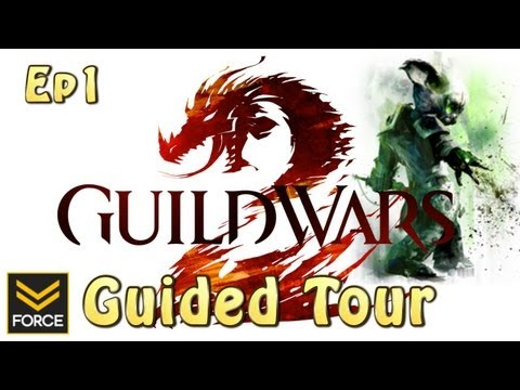 Guild Wars 2: Guided Tour - Asura Necromancer Ep.1 (Gameplay)