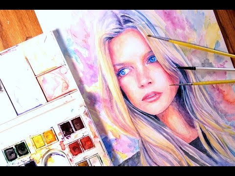 Speed Painting Watercolor : Wonder