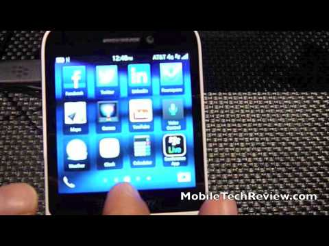 BlackBerry Q5 Hands-on Video