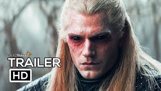 THE WITCHER Official Trailer (2019) Henry Cavill, Netflix Fantasy Series HD