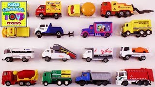 Learning Trucks for Kids Children Toddlers Babies | Learning Vehicles | Toys for Children | Kids TV