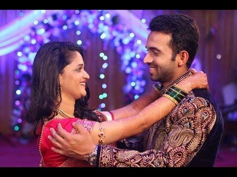Ajinkya Rahane Weds Lady Luck Radhika Dhopvka!