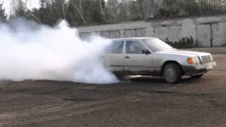 MB BURNOUT w124 3.0