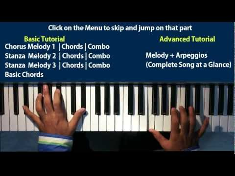 Why This Kolaveri Di Piano Tutorial | Melody | Chords | Basic+advanced video
