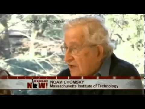 Chomsky on Fukushima, Cold War, Falluja, Vietnam War