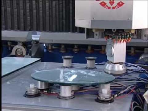 Обработка кромки стекла станок