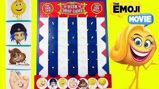 DISK DROP GAME EMOJI MOVIE Toy Surprise Boxes