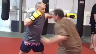 Seacoast MMA Boxing drills