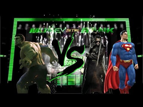 WWE 2K14: Hulk Vs. [Blade And Superman]