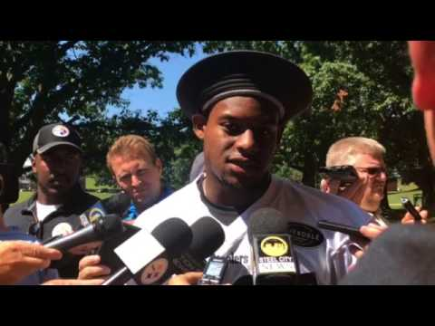 Steelers Camp Juju Smith Schuster Talks About Joshua Dobbs