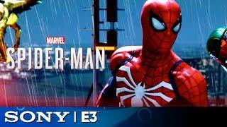 Spider-Man - Open World Gameplay Demo   Sony E3 2018